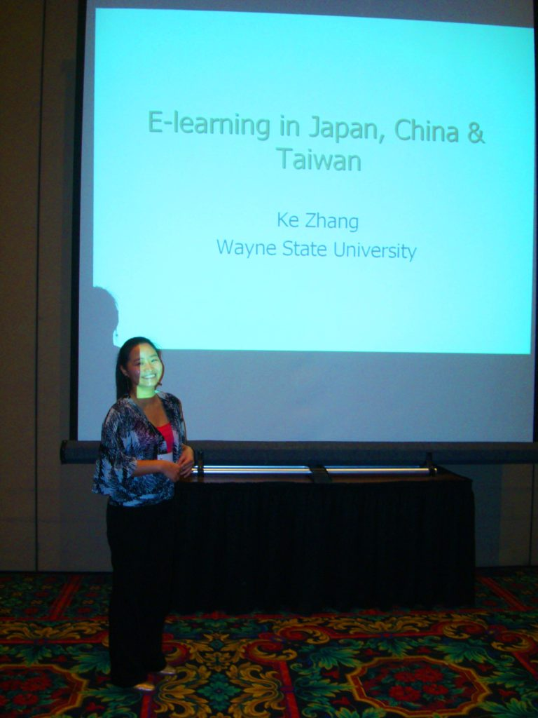 Ke Zhang from the United States (Taiwan, Japan, China).