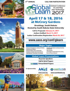 Global Learn 2017 Poster
