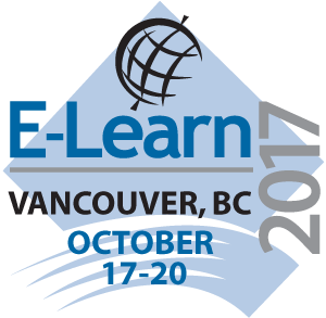 E-Learn, Oct 17-20, Vancouver