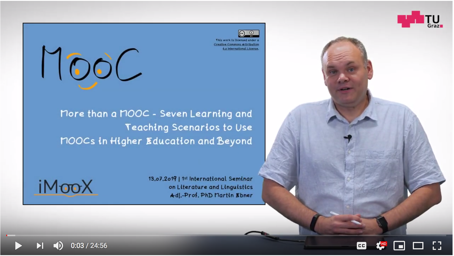 Keynote Review: More than a MOOC- Seven Learning and Teaching